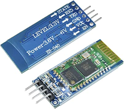 Wireless Serial RF Transceiver Module Base Board HC-06 RS232 for Arduino