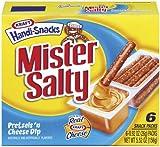 kraft cheese sticks - KRAFT HANDI SNACKS MR SALTY PRETZEL STICKS & CHEESE DIP