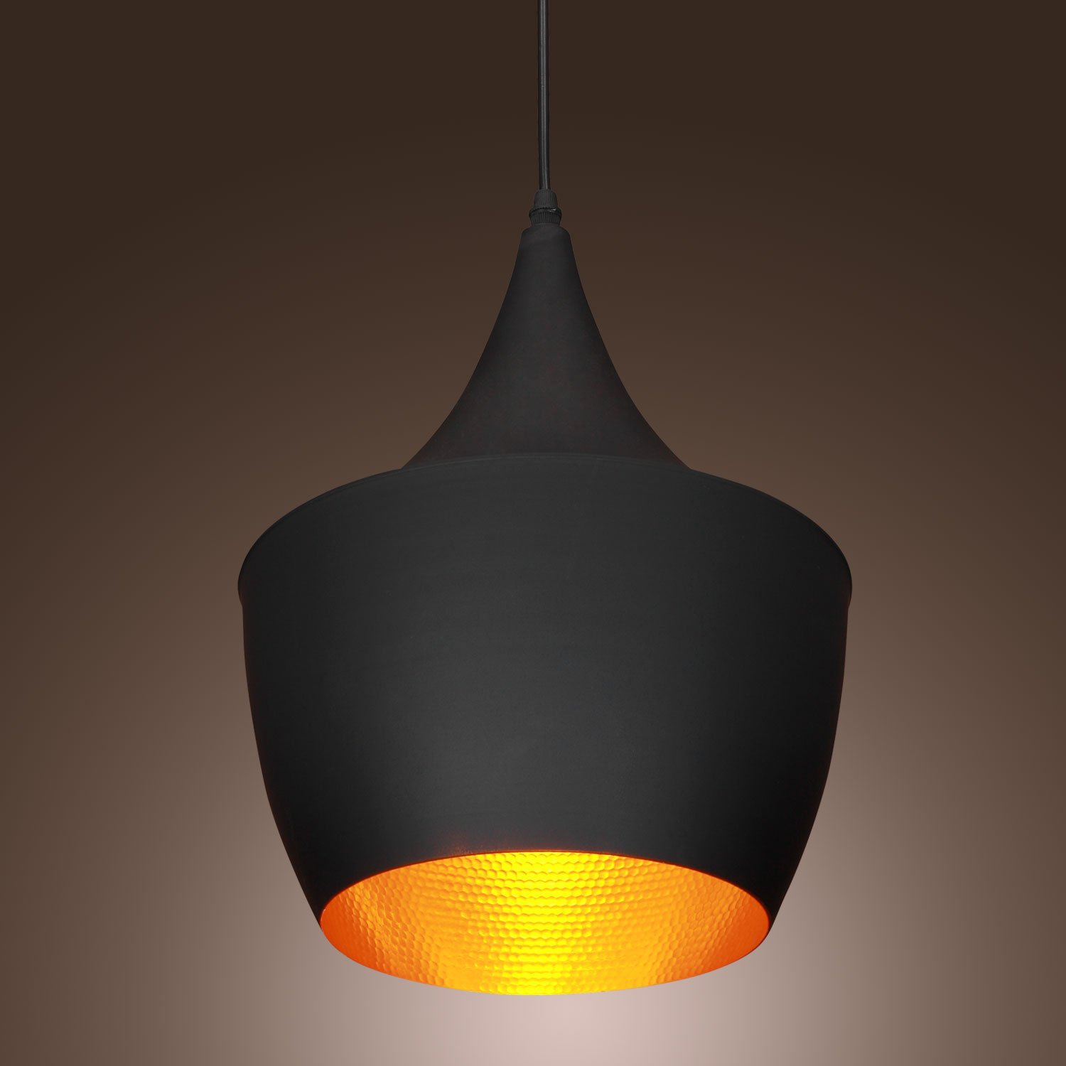 60w pendant light in black shade moderncomtemporary pendant light 60w pendant light in black shade moderncomtemporary pendant light fit for li ceiling pendant fixtures amazon aloadofball Image collections