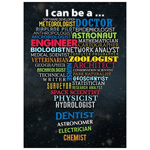 Creative Teaching Press Poster Stem Careers Inspire U Poster, Gr. 3+ (7273)