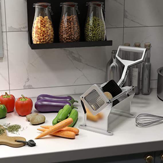 Amazon.com: Cortador de patatas fritas y rebanador de frutas ...