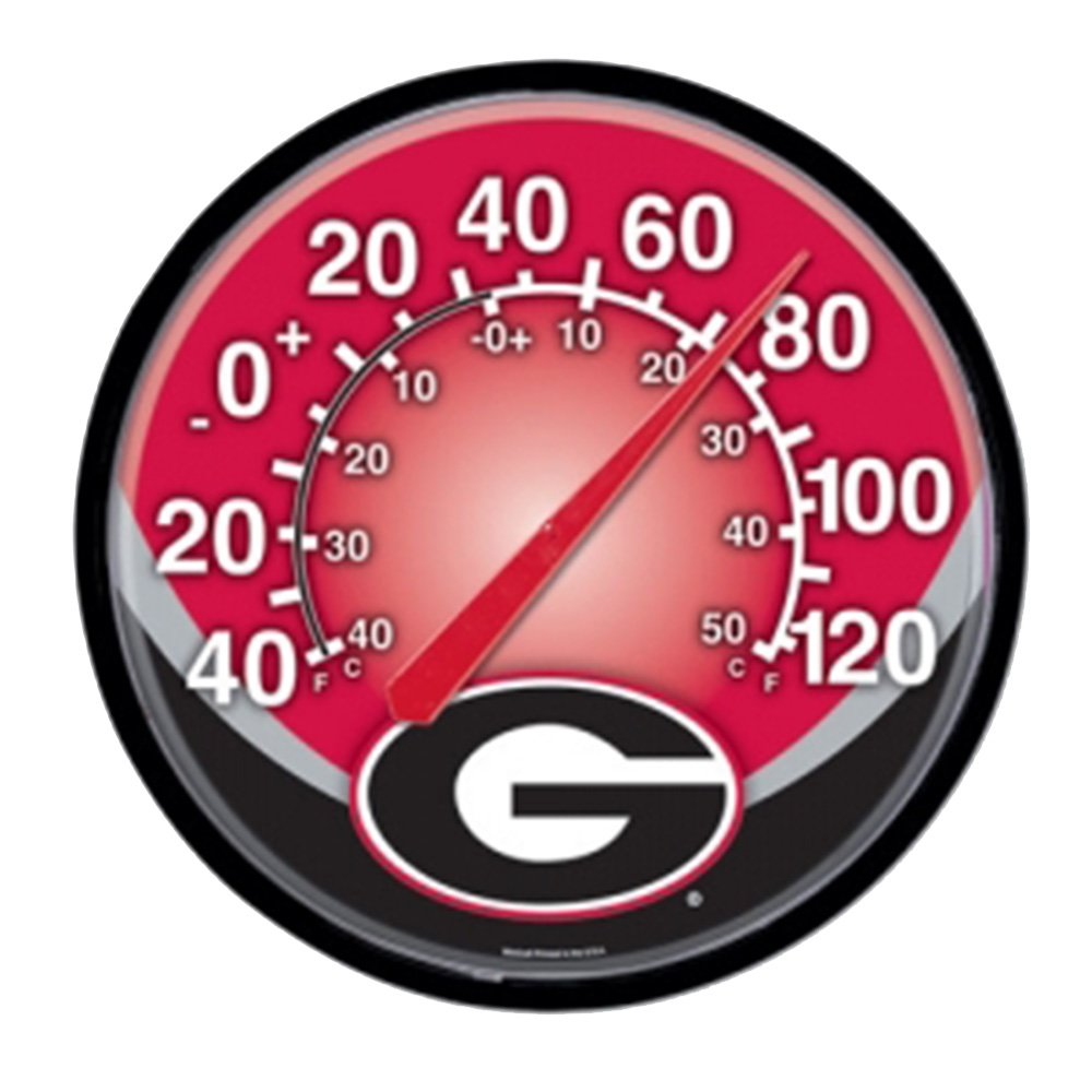 NCAA Georgia Bulldogs WinCraft Official Round Clock