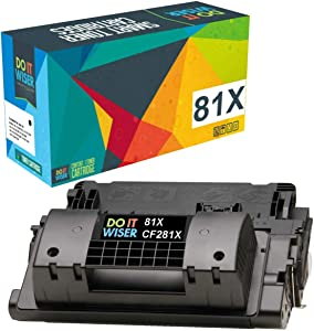 Do it Wiser Compatible Toner Cartridge Replacement for HP 81X CF281X HP Laserjet M605 M606 M630 M605X M605N M605DN (Black, High Yield)