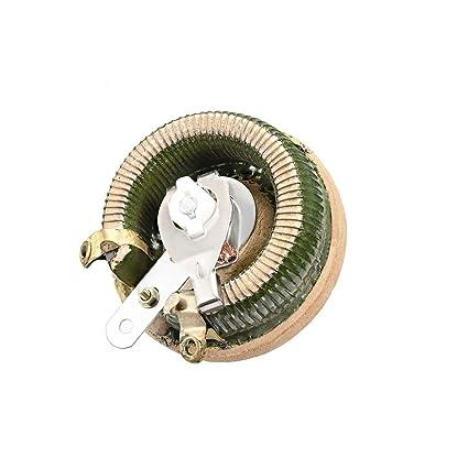 uxcell 10 ohm 100w high power ceramic wirewound potentiometer rh amazon com