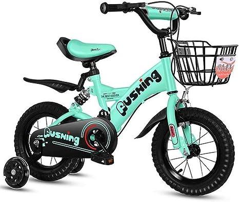 JLASD Bicicleta Niño Vespa Bicicleta For 2-11 Años Niñas Niños ...