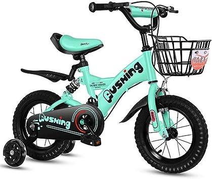 K-G Bicicleta Infantil Niño Vespa Bicicleta For 2-11 Años Niñas ...