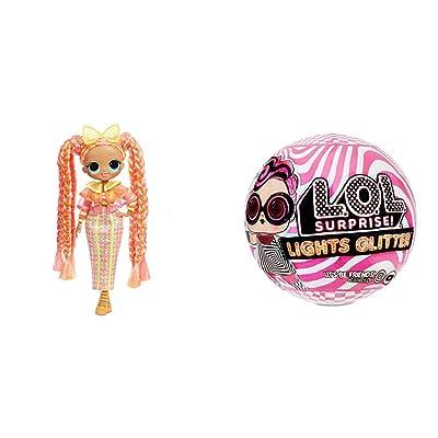 L.O.L. Surprise! O.M.G. Lights Dazzle Fashion Doll with 15 Surprises w Lights Glitter Doll with 8 Surprises Including Black Light Surprises: Toys & Games