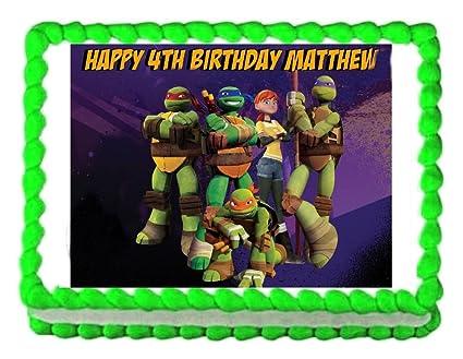 Amazon.com: TMNT Teenage Mutant Ninja Turtles party edible ...