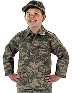 Amazon com: Private Label Kids ACU Digital Pattern Army Pants: Clothing