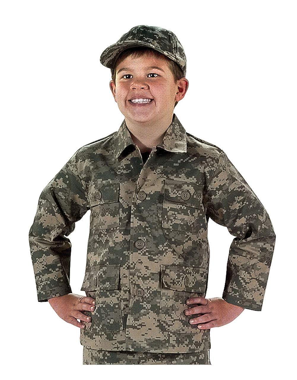 Private Label Kids ACU Digital Pattern Jacket