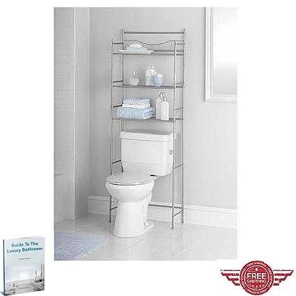 Amazon.com: Ergonomic Storage Toilet Shelves,Metal Design Practical ...