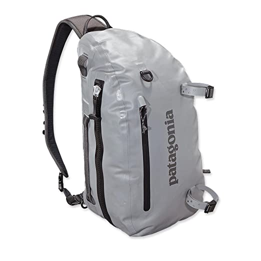 649a5cfb99d Amazon.com : Patagonia Stormfront Sling 20L Feather Grey : Clothing