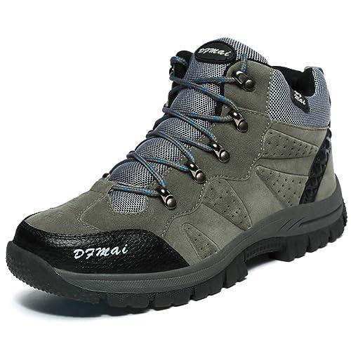Hombres Botas de Excursionismo al Aire Libre Trekking Escalada Zapatillas de montaña Hombres Zapatos Antideslizantes para Caminar: Amazon.es: Zapatos y ...