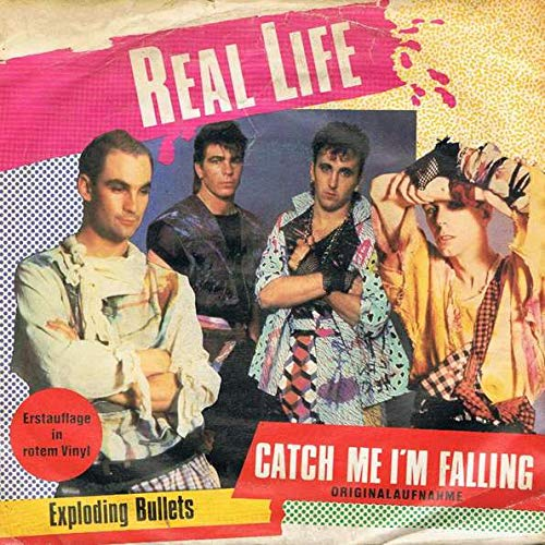 Real Life - Catch Me I'm Falling - Curb Records - INT 112.713, Intercord - INT 112.713