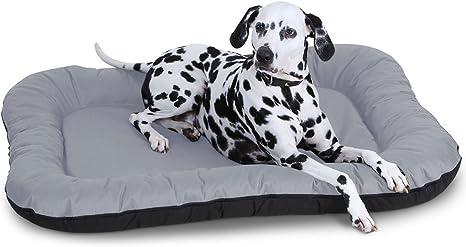 Lucky Cama para perro para interior y exterior, L-XXXL, gris, marró
