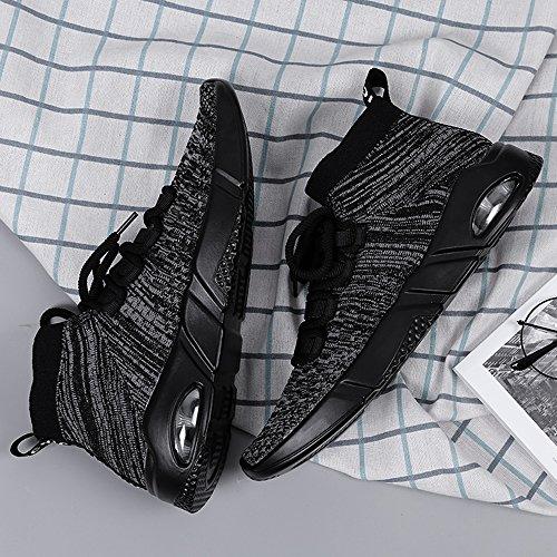 De Sport Homme Chaussures Running Sneakers Gris Baskets WCIPqf