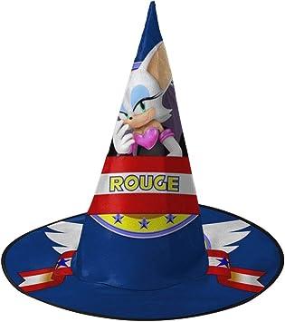 NUJSHF Sonic The Hedgehog Rogue The Bat Banner Gorro de Bruja ...