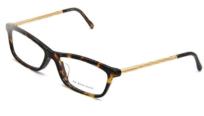 f91f779147 Image Unavailable. Image not available for. Color  Burberry Women s BE2190 Eyeglasses  Dark Havana ...