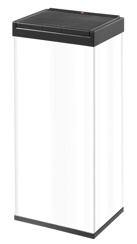 ハイロ(Hailo) ビッグボックスタッチ60 L スクエア ホワイト Big-Box Touch® 60 Square waste boxeswhite B00AZGHX3Qホワイト