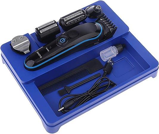 Anjuley - Cortapelos multifunción de Titanio, cortapelos, afeitadora, afeitadora eléctrica y afeitadora: Amazon.es: Hogar