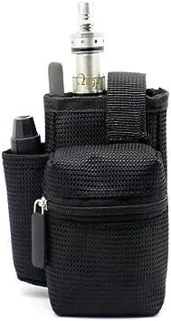Cigarrillos electrónicos E cigarrillo Vapor Pocket E Cig Caso de doble cubierta Vape bolsa vape mod caso de transporte para caja de batería rda: Amazon.es: Salud y cuidado personal
