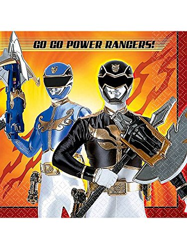 [Power Rangers Megaforce Luncheon Napkins (16 Pack)] (Power Rangers Megaforce Halloween)