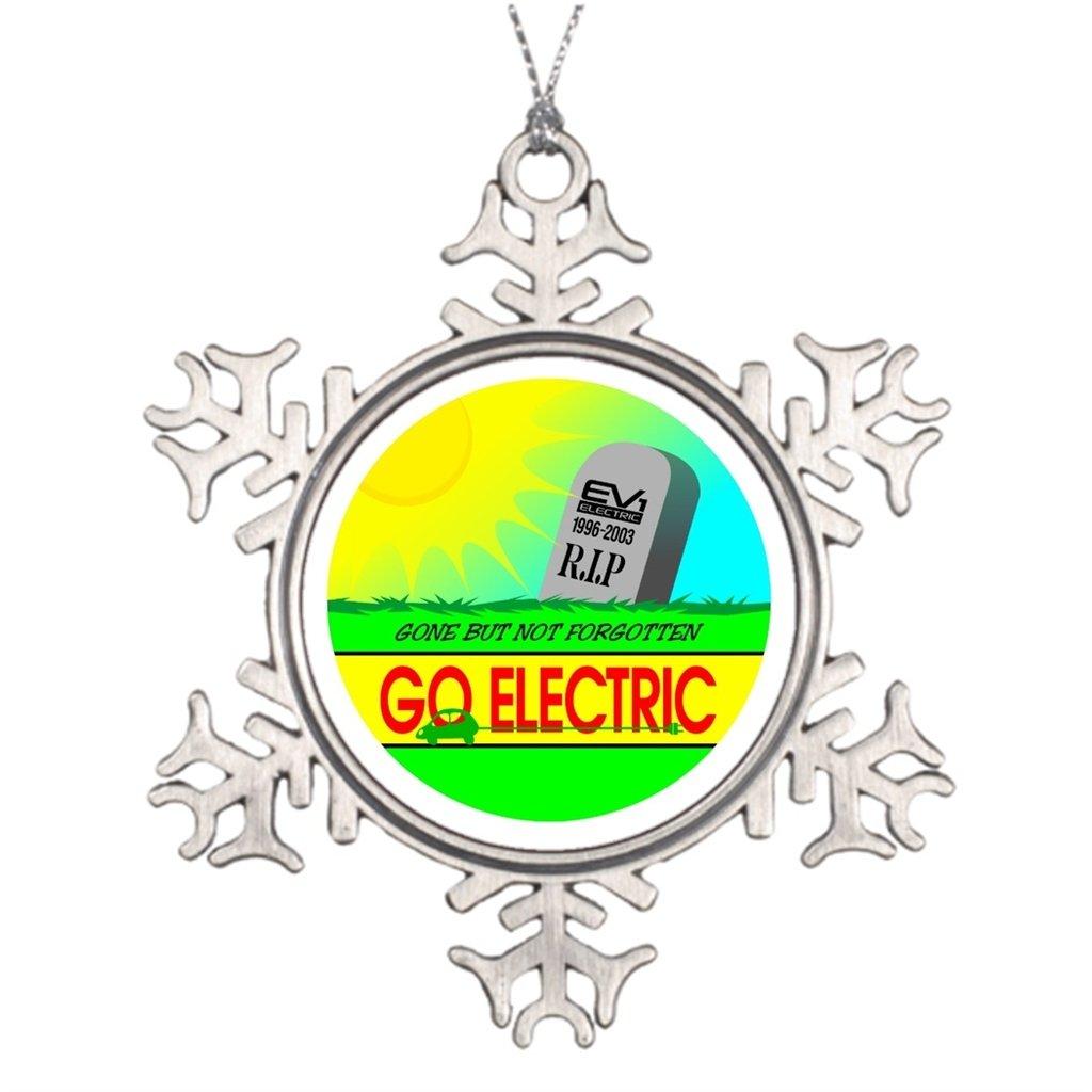 Darlingz Tree Branch Decoration Ev1 Electric Vehicle Car EV1 - Traditional Christmas Decorations