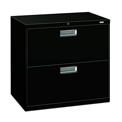 HON Brigade 2 Drawer Filing Cabinet   600 Series Lateral Metal File Cabinet,  30u0026quot