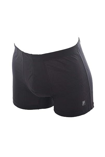 Fila Boxer uomo, nero, cotone elasticizzato: Amazon.it ...