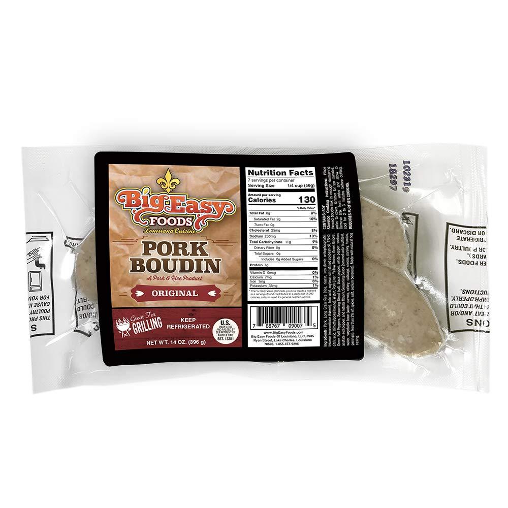 Mild Pork Boudin 14oz. (4 Pack)