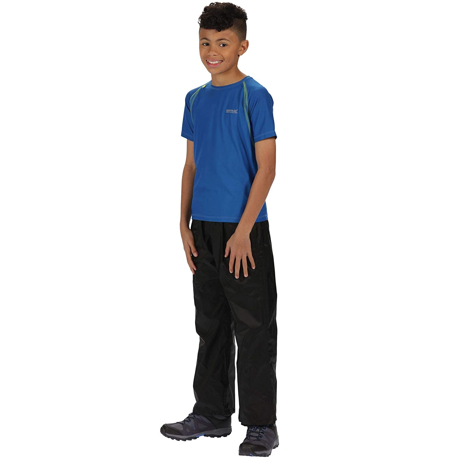 87b07a10c Regatta Kid's Pack It Over Trousers: Amazon.co.uk: Clothing