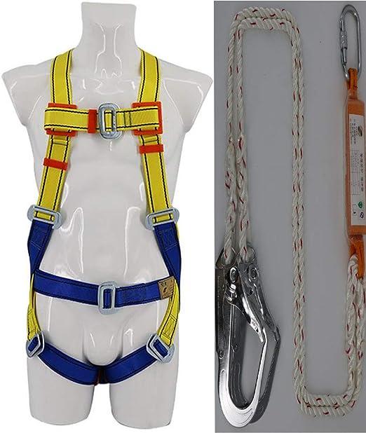 Lhh Arnés anticaída y cinturón de sujeción (5 Puntos de Anclaje ...