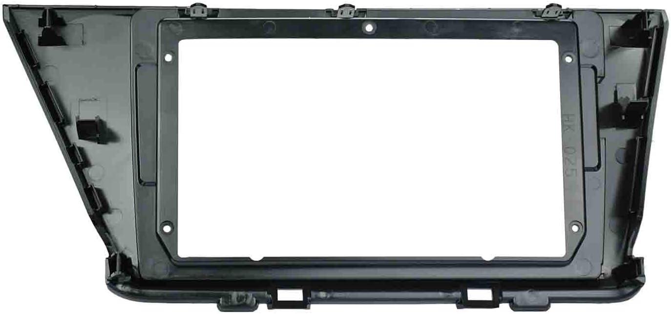 LEXXSON Car Radio In-Dash Mounting Frame Radio Installation Fascia for 9 inch Car Stereo Car Radio Frame for Kia NIRO 2016-2018