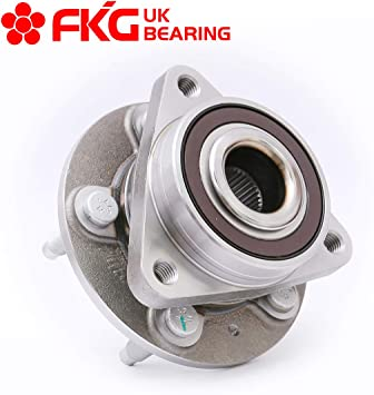FITS 15 Wheels ONLY 5 Lugs Front Wheel Bearing Hub Assembly for 2011-2015 Chevy Cruze 2016 Chevrolet Cruze Limited FKG 513315