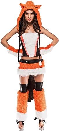 Sexy Fox zorro Disfraz Para Carnaval: Amazon.es: Ropa y accesorios