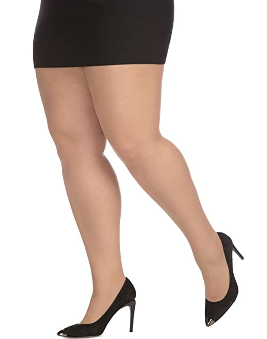 a625a38ba8a0d Just My Size Womens Day Sheer Pantyhose 3-Pack, 2X, Beige: Amazon.ca ...