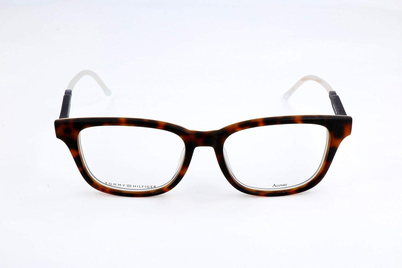 Tommy Hilfiger Brillengestelle 762753895295 Montature Marrone 52.0 Unisex-Adulto Brown