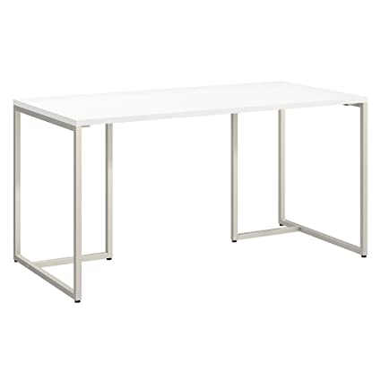 Amazon Com Office By Kathy Ireland Method 60w Table Desk In White