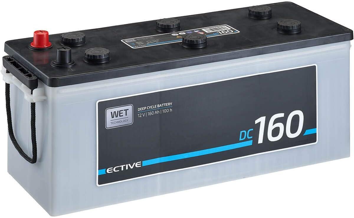Ective 12v 160ah Nass Batterie Dc Serie Solar Versorgungsbatterie In 5 Varianten 90ah 260ah Wartungsfrei Elektronik