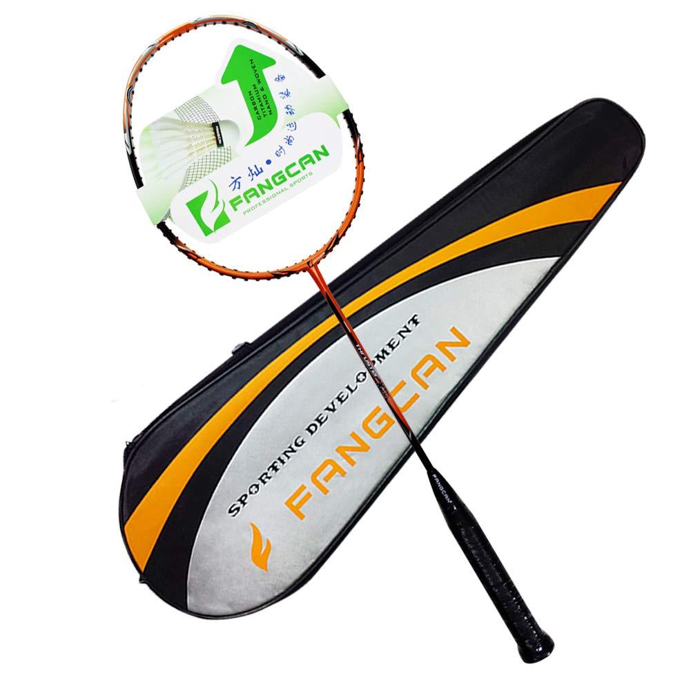 特別価格 Fangcan Fangcan k15グラファイトOffensiveプロフェッショナルレベルバドミントンラケットでオレンジでカバー( B010SURUTU Prestrungラケット) B010SURUTU, ゴルフセオリー:7f813357 --- vanhavertotgracht.nl