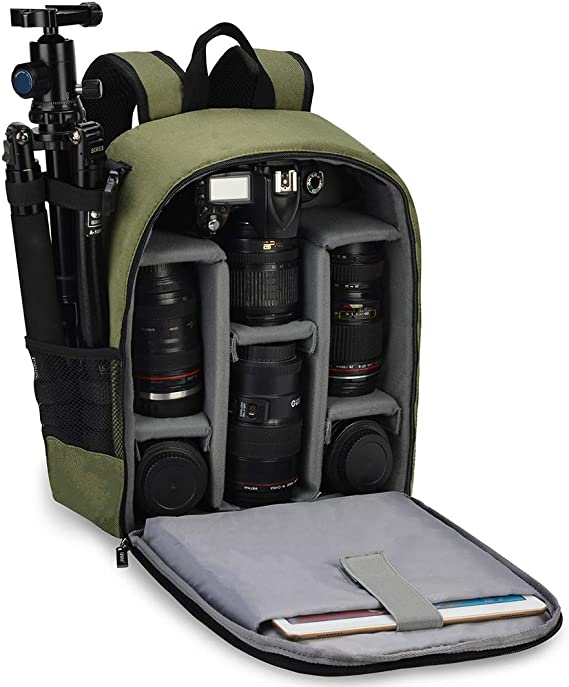 CADeN Camera Backpack Bag Professional for DSLR/SLR Mirrorless Camera Waterproof