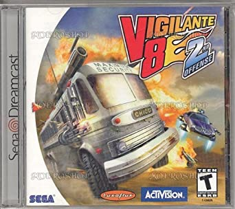 vigilante 8 2nd offense dreamcast