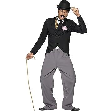 Traje de Charlie Chaplin disfraz vestuario años 20 estrella ...