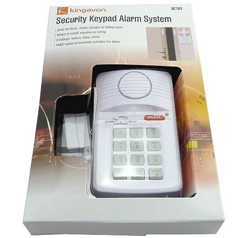 Alarmas inalámbricas con teclado numérico - con pilas ...