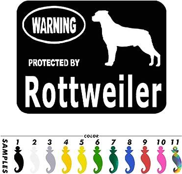 Rottweiler Inside Sticker Car Bumper Window Truck Laptop Motorcycle Vinyl Decal