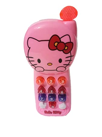 Hello Kitty Opbergkast.Buy Shopjamke Hello Kitty Musical Toy Phone With Music And Light For