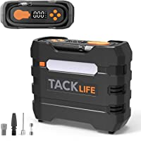 TACKLIFE Digital Tire Inflator, Air Compressor Pump 150PSI, 12V Tire Pump with Overheat… photo