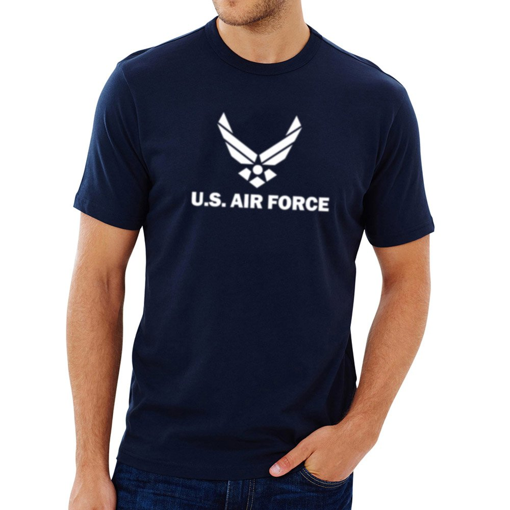 Loo Show S Air Force Vintage Basic Casual T Shirts Tee