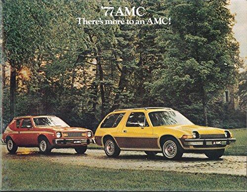 1977 AMC Pacer Gremlin Hornet Matador full-line sales brochure