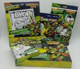 ninja turtle art kit - Teenage Mutant Ninja Turtles Pop-Outz Craft Bundle 5 Sets